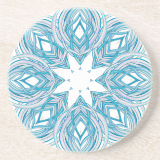 Blossom Open Mandala | Customizable Coaster