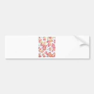 Blossom Pattern Bumper Sticker