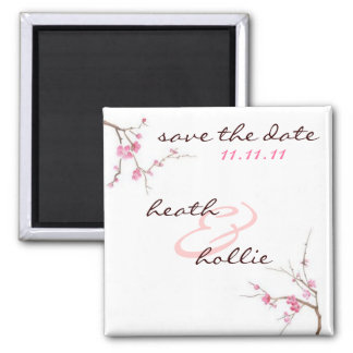 Blossom Save The Date Magnet
