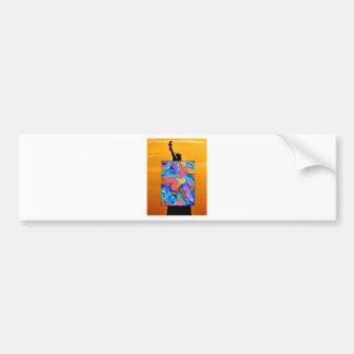 Blossom Statue Of Liberty Bumper Sticker