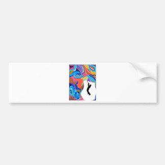 Blossom Trombone Bumper Sticker