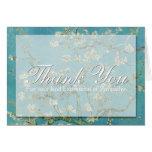 Blossom Van Gogh Sympathy Thank You Note card -2-