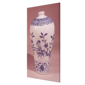 Blossom vase, Ming dynasty Canvas Print
