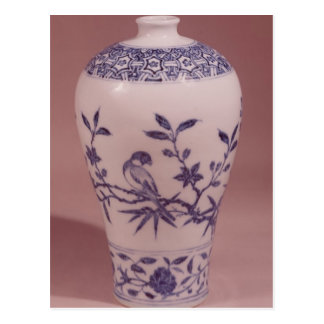 Blossom vase, Ming dynasty Postcard