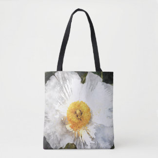 'Blossom' Watercolour Effect Flower Tote Bag