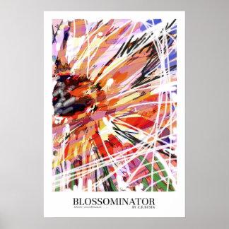 Blossominator poster art/print
