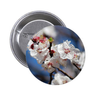 Blossoming 6 Cm Round Badge