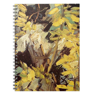 Blossoming Acacia Branches Vincent van Gogh. Note Books