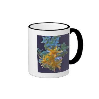 Blossoming Aeonium Ringer Mug
