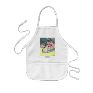 Blossoming Almond Branch...by Vincent van Gogh Kids Apron