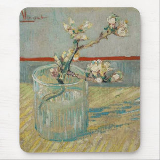 Blossoming Almond Branch by Vincent van Gogh Mouse Mat