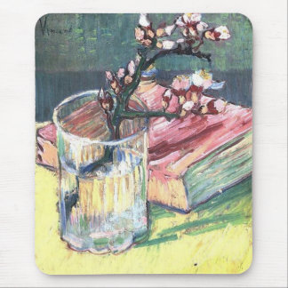 Blossoming Almond Branch by Vincent van Gogh Mousepad