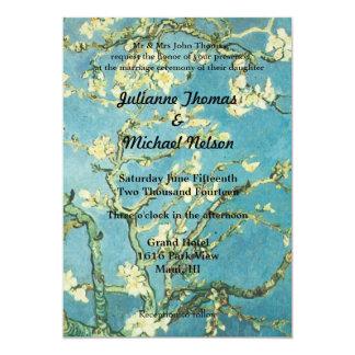 "Blossoming Almond 5"" X 7"" Invitation Card"