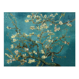 Blossoming Almond Tree 1890 by Van Gogh Postcards