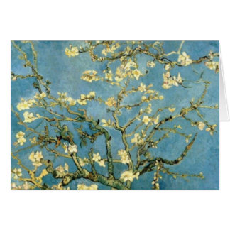 Blossoming Almond Tree by Van Gogh Card