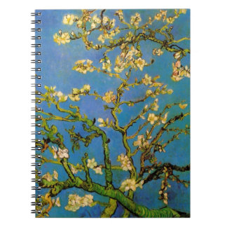 Blossoming Almond Tree by Van Gogh, Fine Art Spiral Notebook
