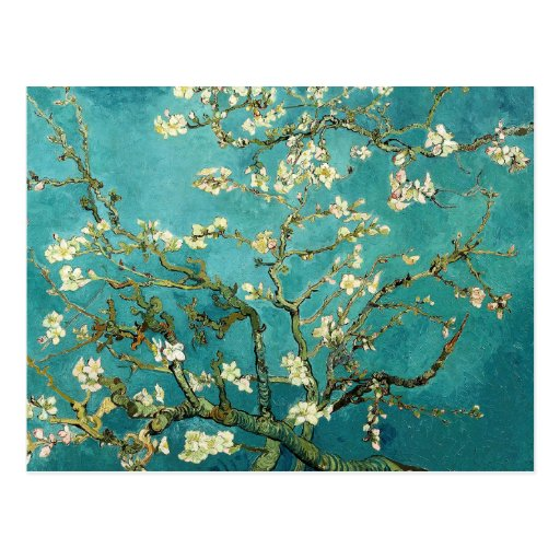 Blossoming Almond Tree by Van Gogh Post Cards