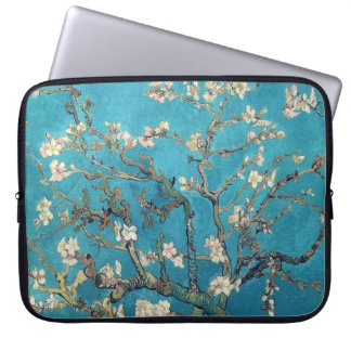 Blossoming Almond Tree by Van Gogh Vintage Laptop Sleeve