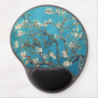 Blossoming Almond Tree by Vincent van Gogh Gel Mouse Mat