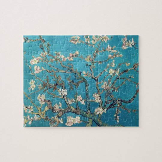 Blossoming Almond Tree by Vincent van Gogh Jigsaw