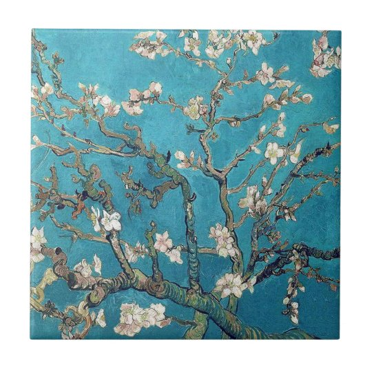 Blossoming Almond Tree by Vincent van Gogh Small