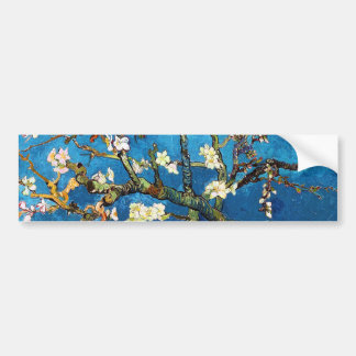 Blossoming Almond Tree Van Gogh Fine Art Bumper Sticker