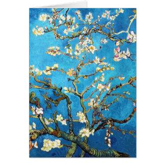 Blossoming Almond Tree Van Gogh Fine Art Greeting Card