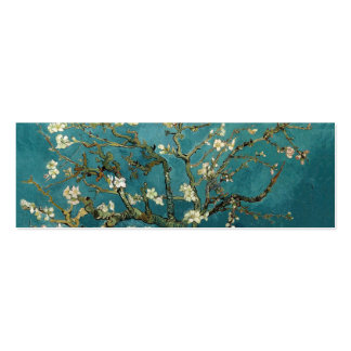 Blossoming Almond Tree, Vincent van Gogh. Business Card Template