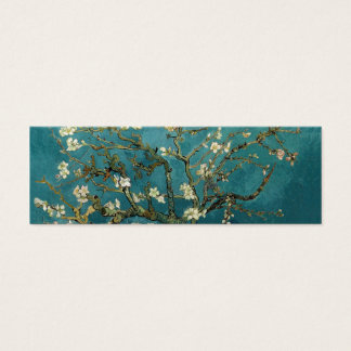 Blossoming Almond Tree, Vincent van Gogh. Mini Business Card
