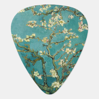 Blossoming Almond Tree Vintage Floral Van Gogh Plectrum