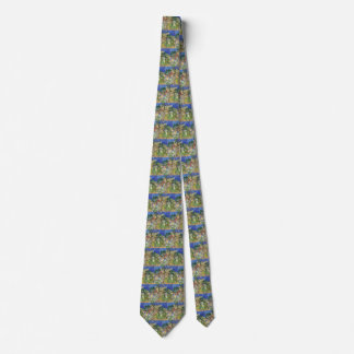 Blossoming Chestnut Branches by Van Gogh, Fine Art Tie