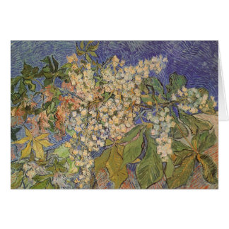 Blossoming Chestnut Branches by Vincent van Gogh Card