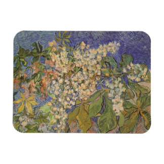 Blossoming Chestnut Branches by Vincent van Gogh Rectangular Photo Magnet