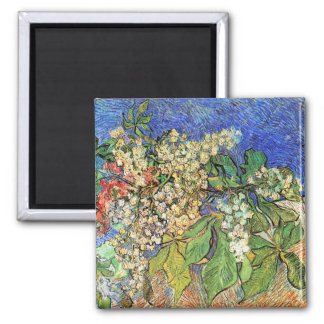 Blossoming Chestnut Branches Magnet