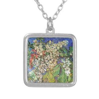 Blossoming Chestnuts Branches Van Gogh Pendant