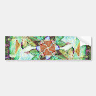Blossoming Flower Bumper Stickers
