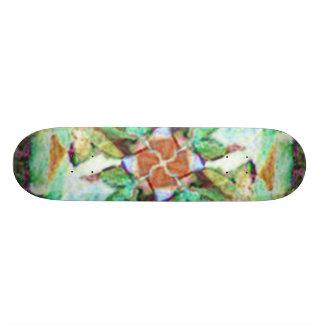 Blossoming Flower Custom Skateboard