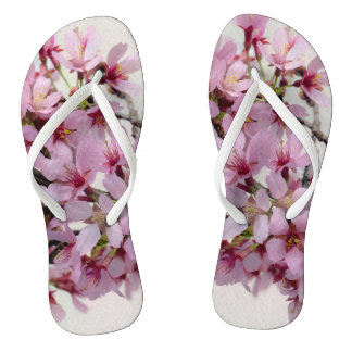 Blossoming Tree Flip Flops