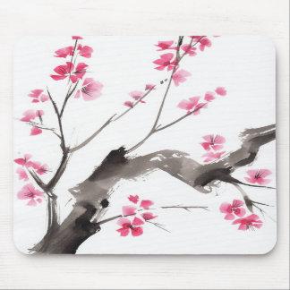 Blossoming tree mousepad