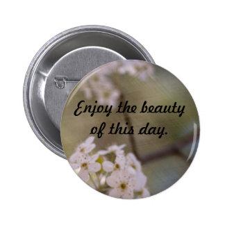 Blossoms 6 Cm Round Badge
