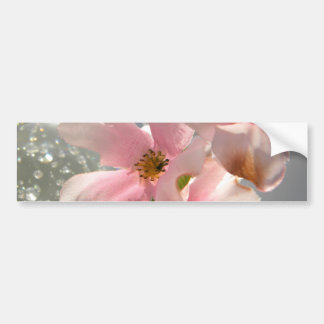 Blossoms and Crystal Bumper Sticker