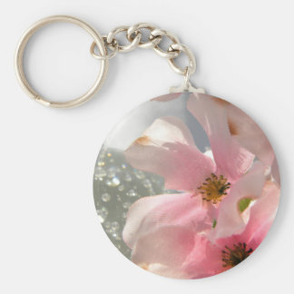 Blossoms and Crystal Key Chains