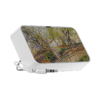 Blossoms and Wallflowers by Guy Rose Mini Speakers