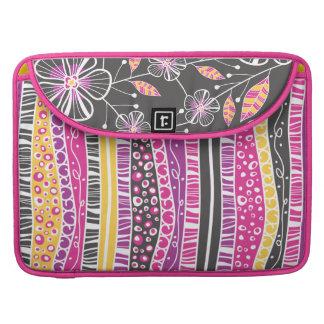 Blossoms & Bouquet Floral MacBook Pro Sleeve
