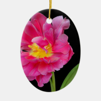 Blossoms Flowers Party Shower Congratulations Love Ceramic Oval Decoration
