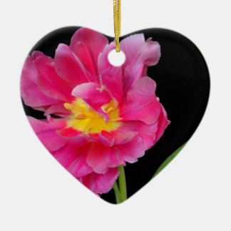 Blossoms Flowers Party Shower Congratulations Love Ceramic Heart Decoration