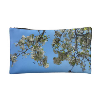 Blossoms in the Sky Makeup Bags
