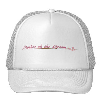 Blossoms So Sweet Mother of the Groom Trucker Hat