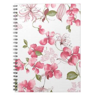 Blossoms Spiral Notebook