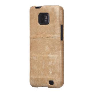 Blotched Beige Paper Texture Samsung Galaxy S Case Samsung Galaxy SII Case